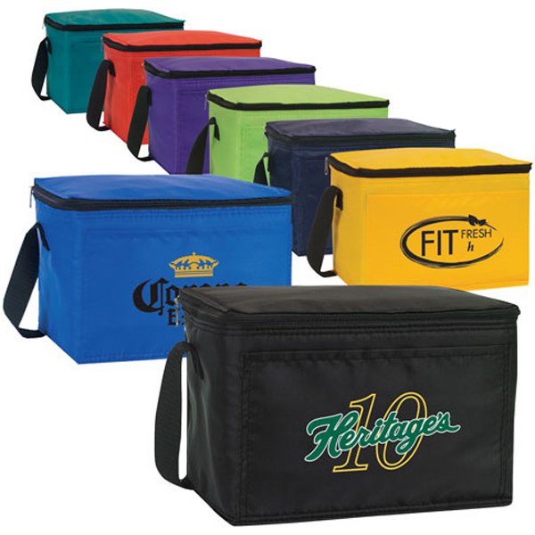 Personalized Economy Classic 6 Pack Cooler