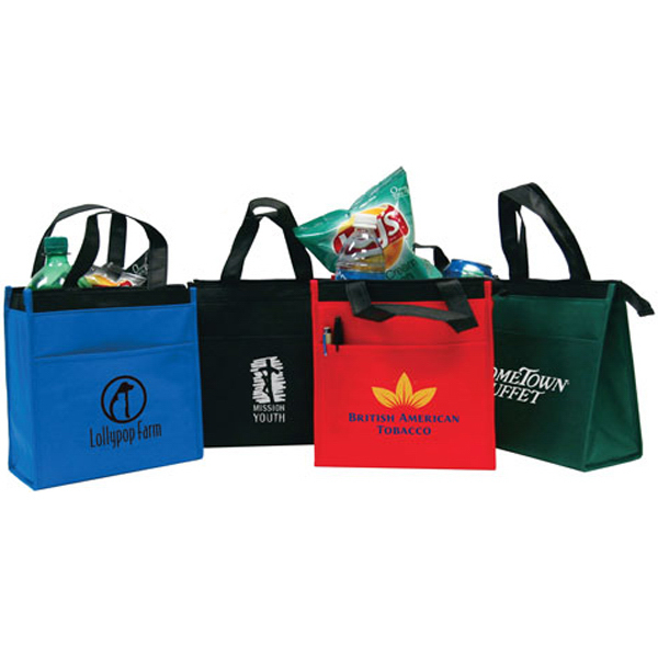 Printed Small Nonwoven Cooler Tote