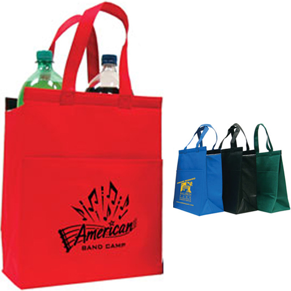 Custom Medium Nonwoven Cooler Tote