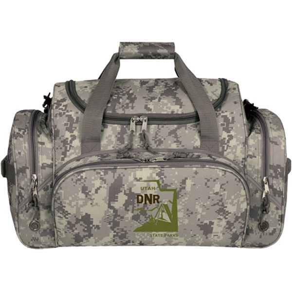 Customized Digi Camo Travel Bag