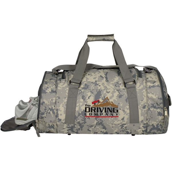 Imprinted Digi Camo Bag with Shoe Tunnel