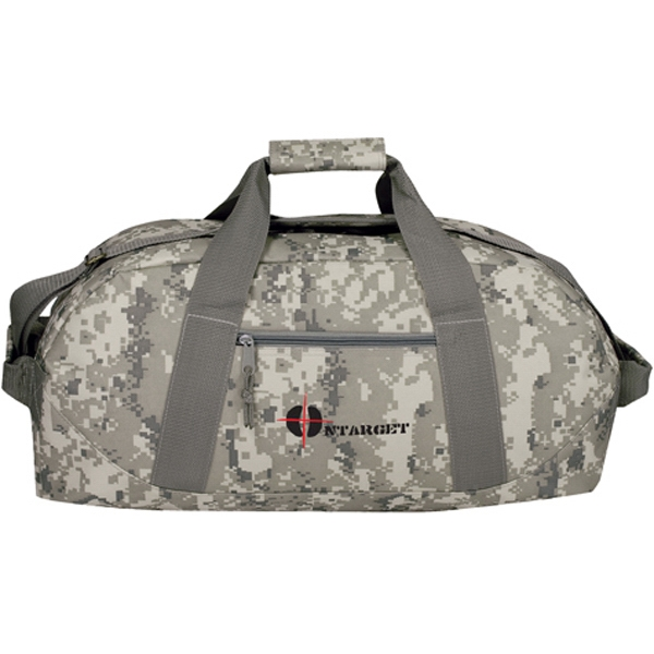 Customized Digi Camo Sports Duffel