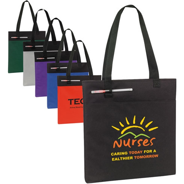 Personalized Budget Conference Tote