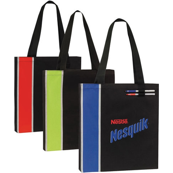 Customized Vertical Highlight Tote