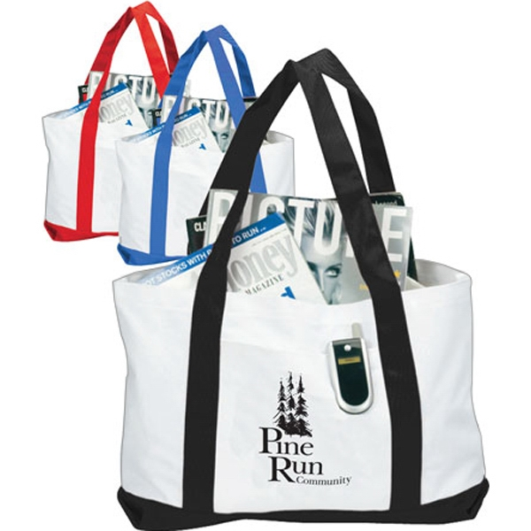 Promotional Two-Tone Boat Tote