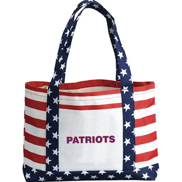 Promotional Patriotic Boat Tote