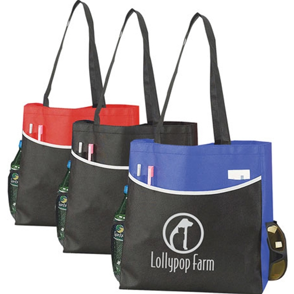 Printed Nonwoven Conference Tote
