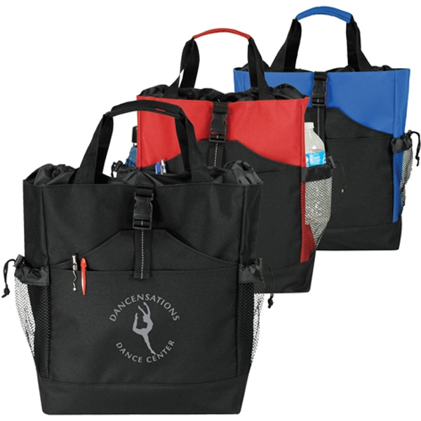 Promotional 2-Way Drawstring Tote/Backpack