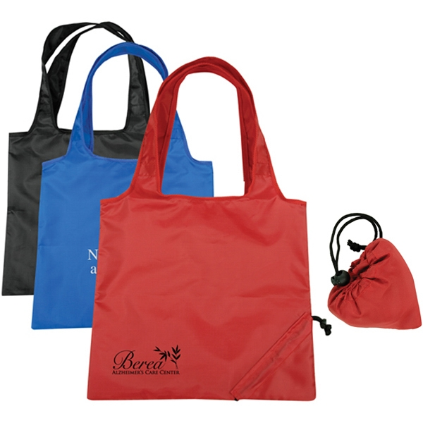 Imprinted Foldable Tote