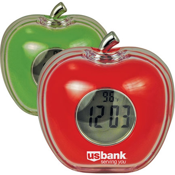 Promotional Talking Apple Shaped Alarm Clock
