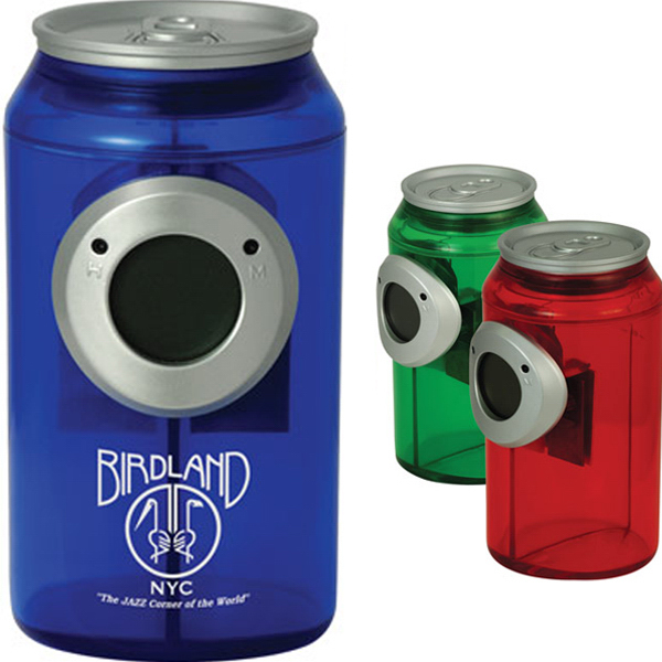 Promotional Water Powered Can Shaped Clock