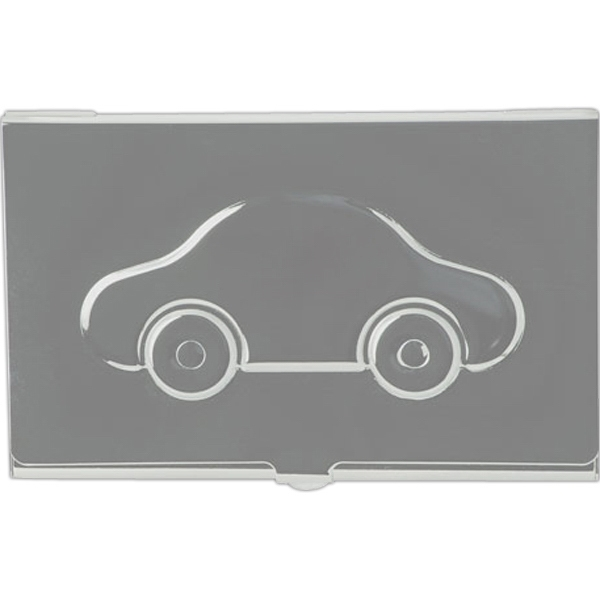 Personalized Metal Business Card Case