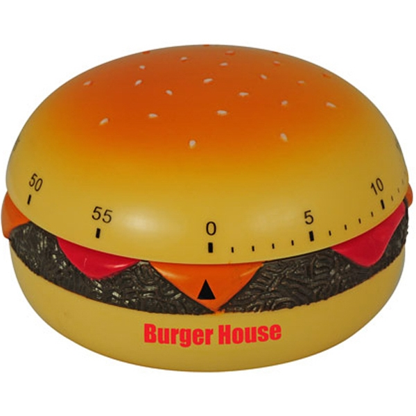 Promotional Hamburger Shaped Kitchen Timer