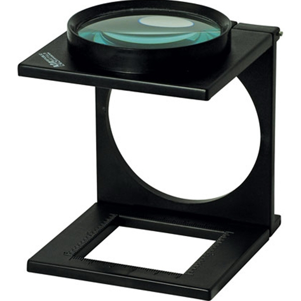Customized 3.3X Folding Stand Magnifier with Ruler