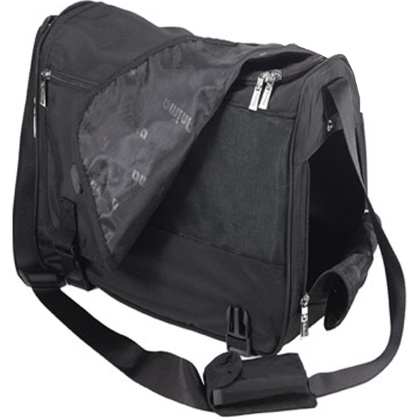 Printed Deluxe Messenger Bag Style Pet Carrier