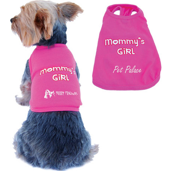 Personalized Mommy's Girl Dog Tank Top