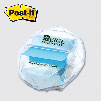 Personalized Post-it® Custom Printed Pop-up Note Dispenser