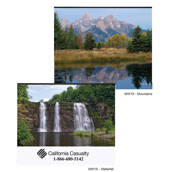 Customized 2015 XL mountains wall calendar