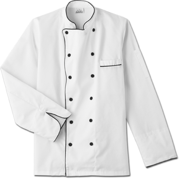 Printed SA18120 White Swan Men's Executive Chef Coat