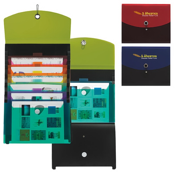 Promotional Cascade PolyPro Folder
