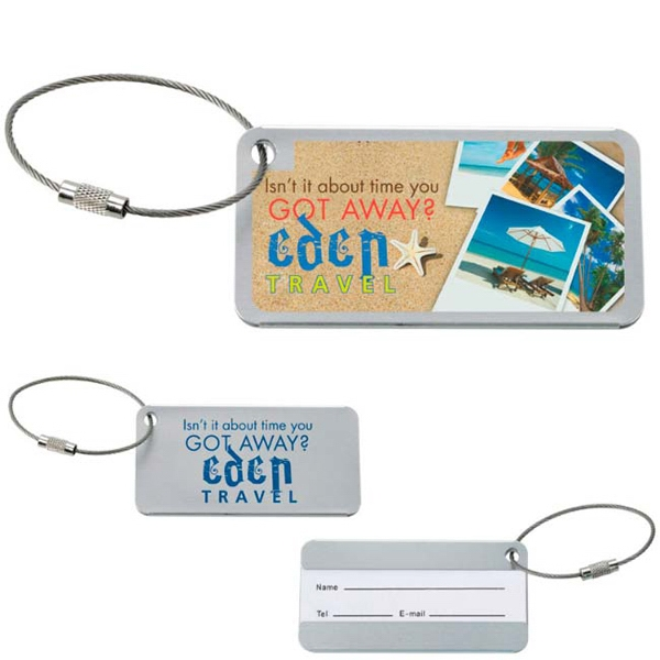 Printed Compact Luggage Tag