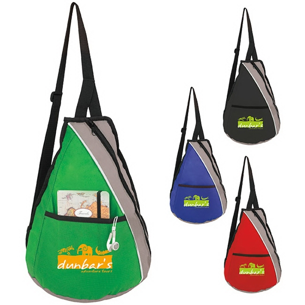 Imprinted Teardrop Slingpack