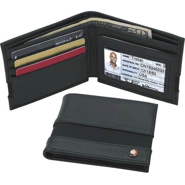 Promotional Sheaffer (TM) Classic Bi-Fold Wallet