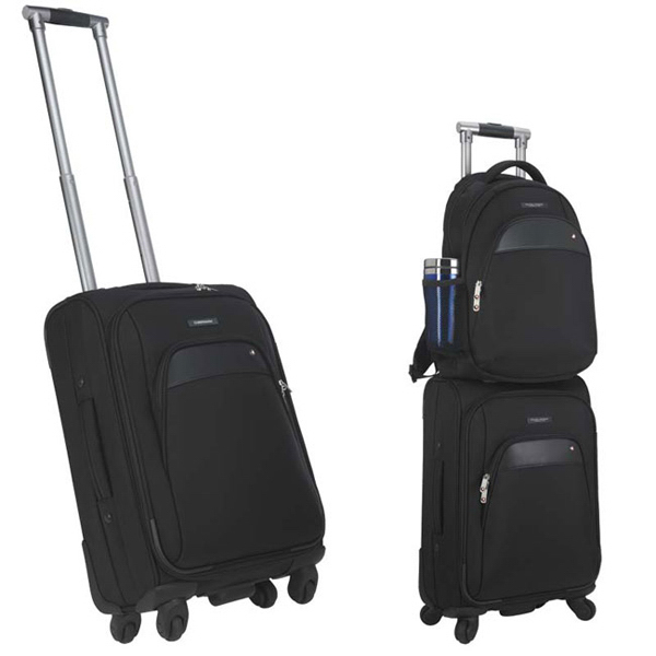 "Promotional Sheaffer (TM) Classic 21"" 4-Wheeled Carry-On"