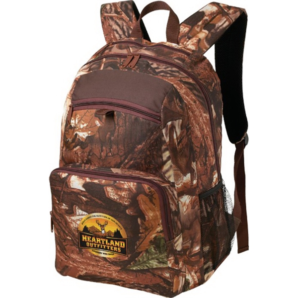 Printed Camo Backpack