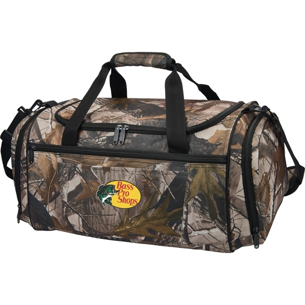 Personalized Camo Duffel
