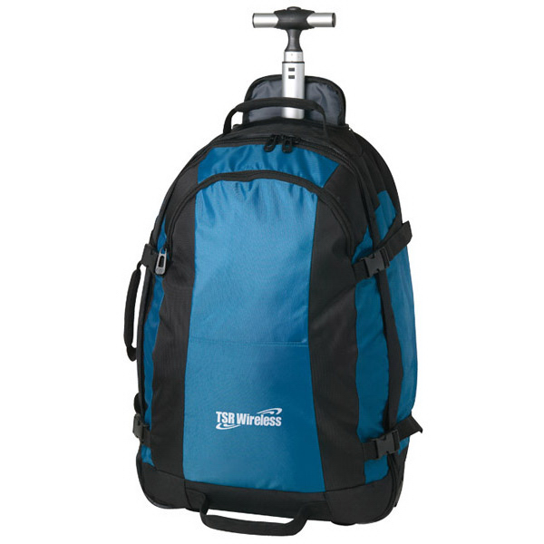 Imprinted Conquest Roller Backpack