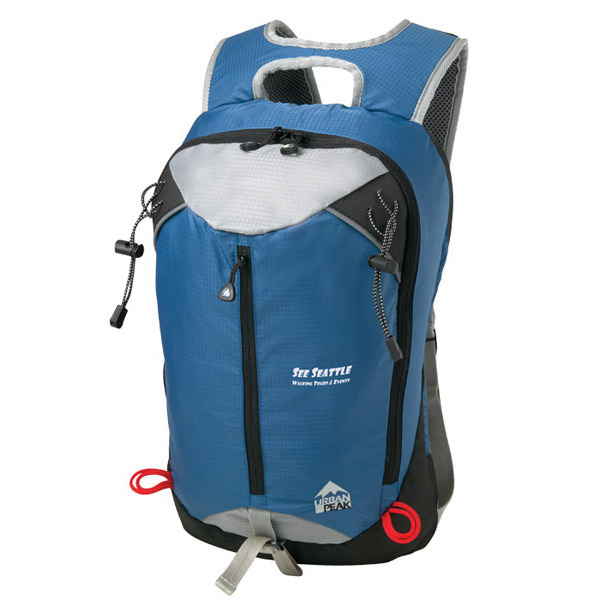 Imprinted Urban Peak (TM) 20L Superlight Daypack