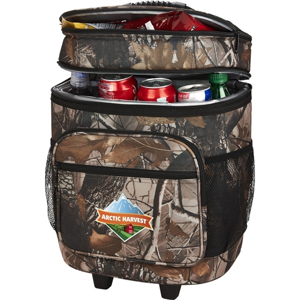 Personalized 30 Can Camo Roller Cooler