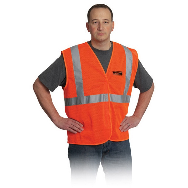 Customized Class 2 Mesh Fabric Vest