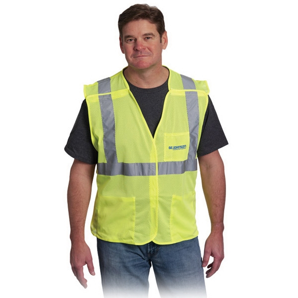 Customized 3 Pocket Mesh Breakaway Vest