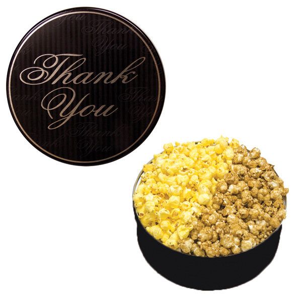 Custom The King Size Popcorn Tin-Thank You Design