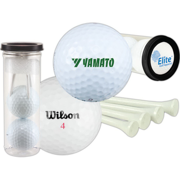 Printed Two Ball Value Golf Gift Set