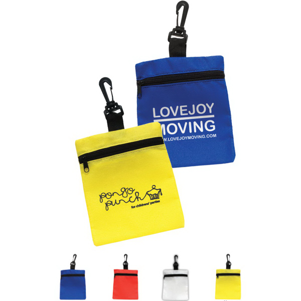 Promotional Mini Zippered Non-Woven Bag