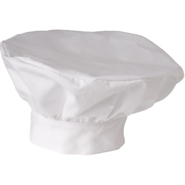 Printed SA18201 White Swan Men's Chef's Hat