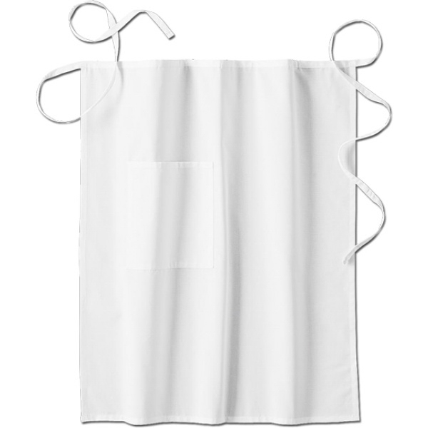 Promotional SA18024 White Swan Men's Long Bistro Apron
