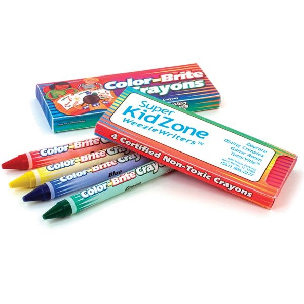 Imprinted Color-Brite Crayons