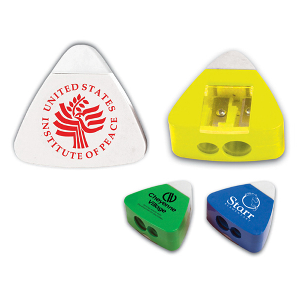 Promotional The Triad Eraser & Sharpener