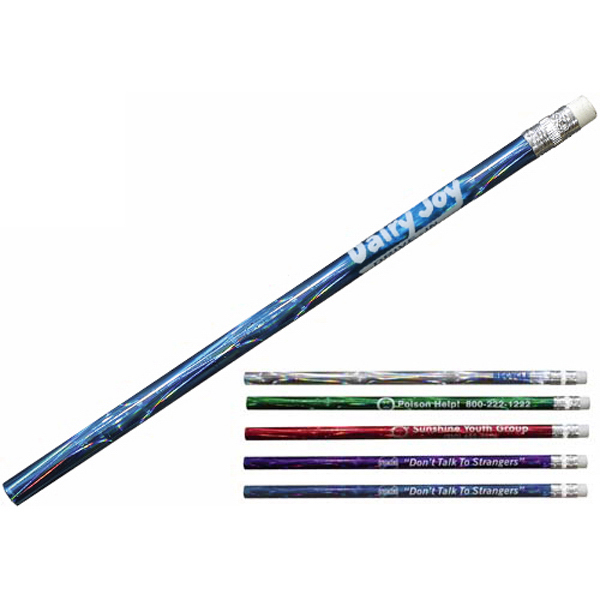 Imprinted Deep Swirl Pencil
