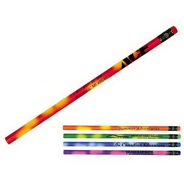Custom Mood Pencil with Colored Eraser