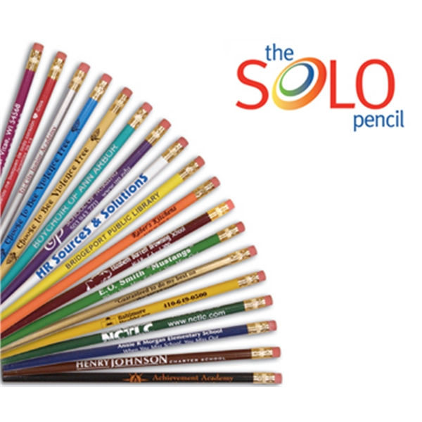 Personalized SoLo Pencil, Round
