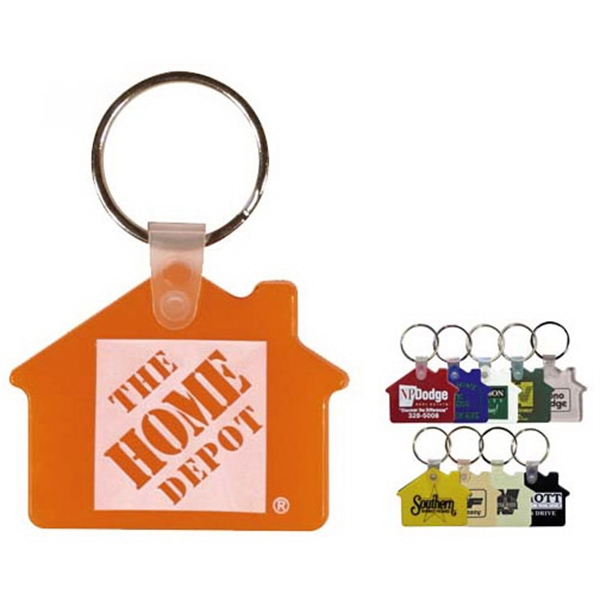 Printed House Key Fob