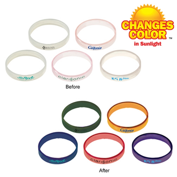 Promotional Sun Fun Bracelet (1 side)