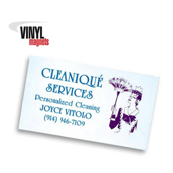 Personalized Standard Business Card Magnet