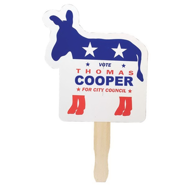 Promotional Patriotic Hand Fan