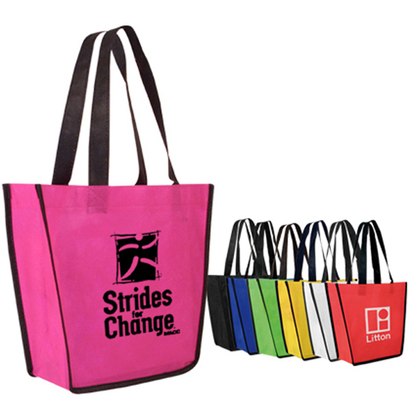 Promotional Non-Woven Fiesta Tote Bag